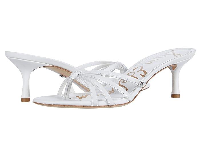 Sam Edelman  Jedda (Bright White Butter Nappa Leather) Womens Shoes