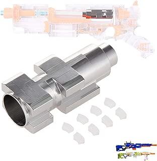 Goshfun Worker Universal Aluminium Tube for NERF CS-6 LONGSTRIKE for NERF Modulus Longstrike, Toy Accessory Kit, Silver