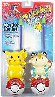 Pokémon Walkie Talkies (includes Pikachu and Meowth)