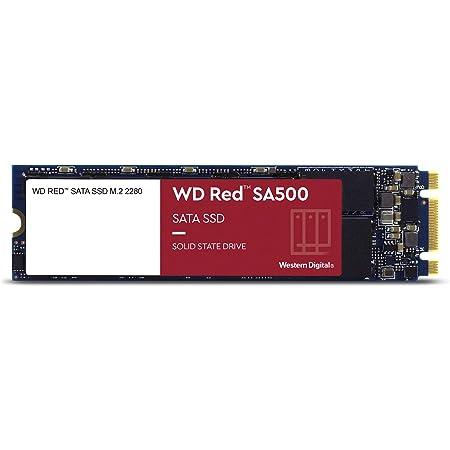 Western Digital ウエスタンデジタル 内蔵SSD 2TB WD Red SA500 NAS向け 高耐久 M.2-2280 SATA WDS200T1R0B-EC 【国内正規代理店品】