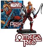 Figura de Plomo Marvel Figurine Collection Especial OMEGA RED