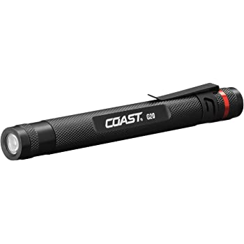 COAST G20 Inspection Beam Penlight LED Flashlight, Black