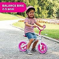 Chicco Pink Comet Bicicletta Bambini Senza Pedali 2-5 Anni, Bici Senza Pedali Balance Bike per l'Equilibrio, con Manubrio e Sellino Regolabili, Max 25 Kg, Rosa, Giochi Bambini 2-5 Anni #1