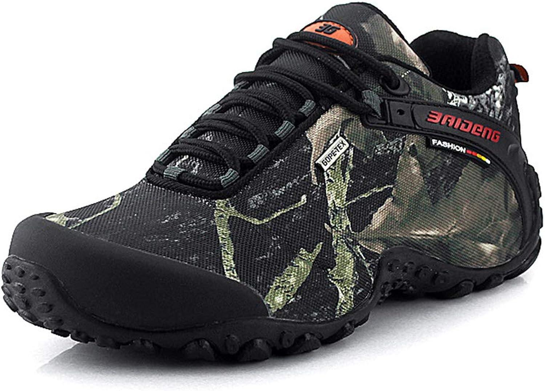36b35f15ea WQING Hiking shoes Men Outdoor Non Slip Low Top Sneakers Trekking Walking  Climbing Trainers Boots