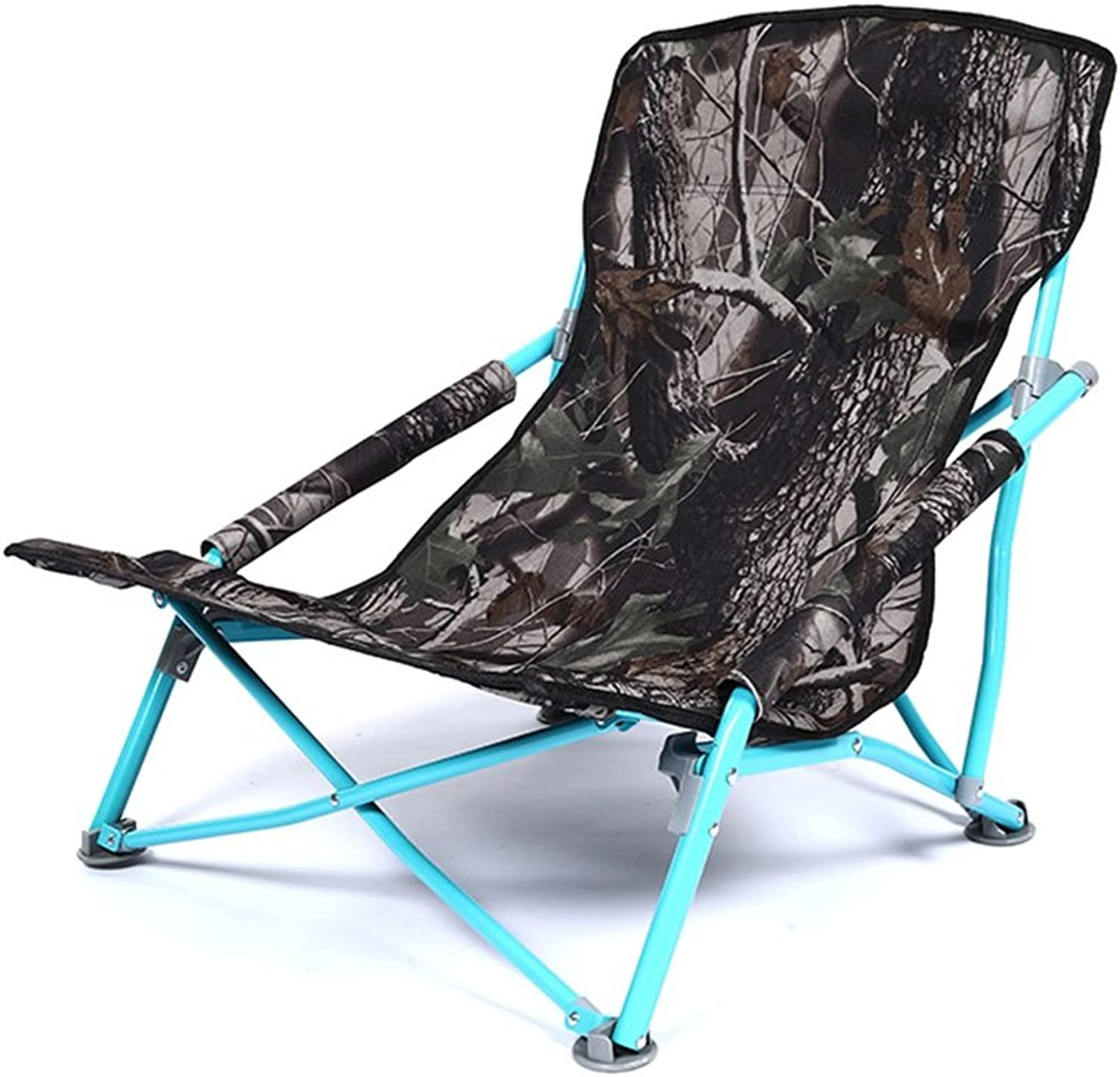 Collapsible Stools with Backrest Folding Seat Beach Chair Low Footstool with Armrest Ultralight Ergonomic Fishing Chair Portable Solid Practical Leisure