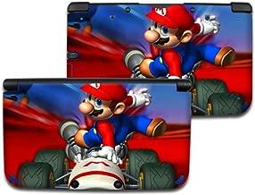 MARIO KART B Nintendo 3DS XL Cover Skin Decal Sticker Vinyl Matte Finish (For Old Version Prior 2015)