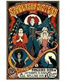 The Sanderson Sisters Movie Hocus Pocus 1993 Wicth Halloween Print Wall Decor Art Gifts Lovers Poster