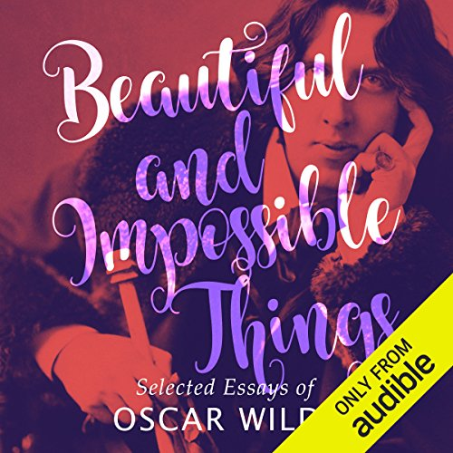 Beautiful and Impossible Things audiobook cover art