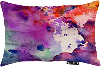 Don T Throw Pillow Watercolor