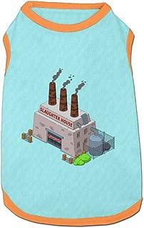 Jmirelife Slaughterhouse Cartoon Image Lovely Pet Dog Puppy Cat Kitten Polo T-Shirt Clothes Coats Outfit Tops