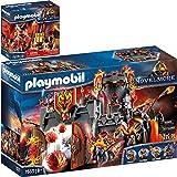 Playmobil® Novelmore 70221 70228 - Juego de 2 cañones de fuego y fuegos artificiales