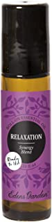Edens Garden Relaxation Essential Oil Synergy Blend, 100% Pure Therapeutic Grade (Pre-Diluted & Ready To Use- Anxiety & St...