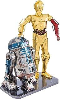 Fascinations-C-3PO Star Wars C-3PO & R2-D2 Building Set, MMG276, Multicolore