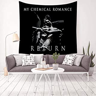 GOEMIX My-Chemical-Romance: 3D Print Home Decor Colorful Tapestry Wall Hanging for Bedroom Dorm Rooms