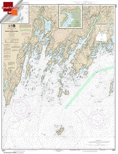 Price comparison product image NOAA Chart 13301: Muscongus Bay; New Harbor; Thomaston 21.00 x 27.41 (Small Format Waterproof)