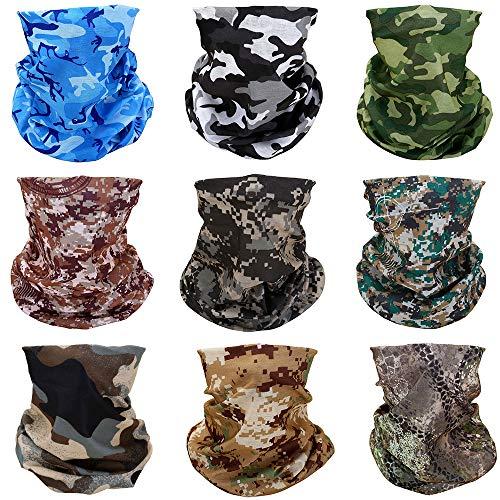 Seamless Face Scarf Head Wraps headwear Bandana Headband Balaclava Neck Gaiter Multifunction