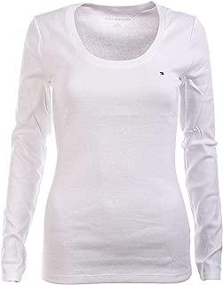 Women's Long Sleeve Solid Crewneck T-Shirt