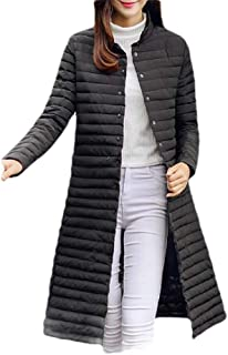 Macondoo Women's Fashion Cotton-Padded Quilted Outwear Puffer Down Jacket