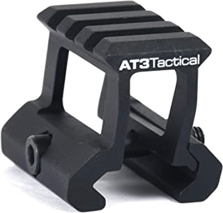 AT3 Tactical PRO-Mount Red Dot Riser Mount - .83 or 1 Inch Height - for RD-50 Red Dot Sight & Picatinny Micro Mini Reflex Sights