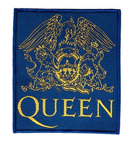 Queen Shield Logo Aufnäher Patch Gewebt & Lizenziert !!