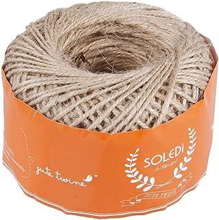 200 m y para hacer manualidades y artesan/ía Cuerda duradera de hilo de algod/ón para hornear para carniceros//as blanco