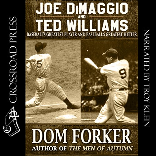 Joe DiMaggio and Ted Williams cover art