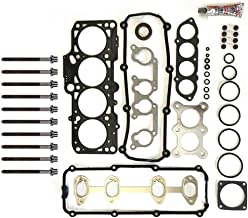 SCITOO Head Gasket Set W/Head Bolts Replacement for Volkswagen Beetle Golf Jetta 2.0L 98-06 Engine Head Gaskets Kit Sets