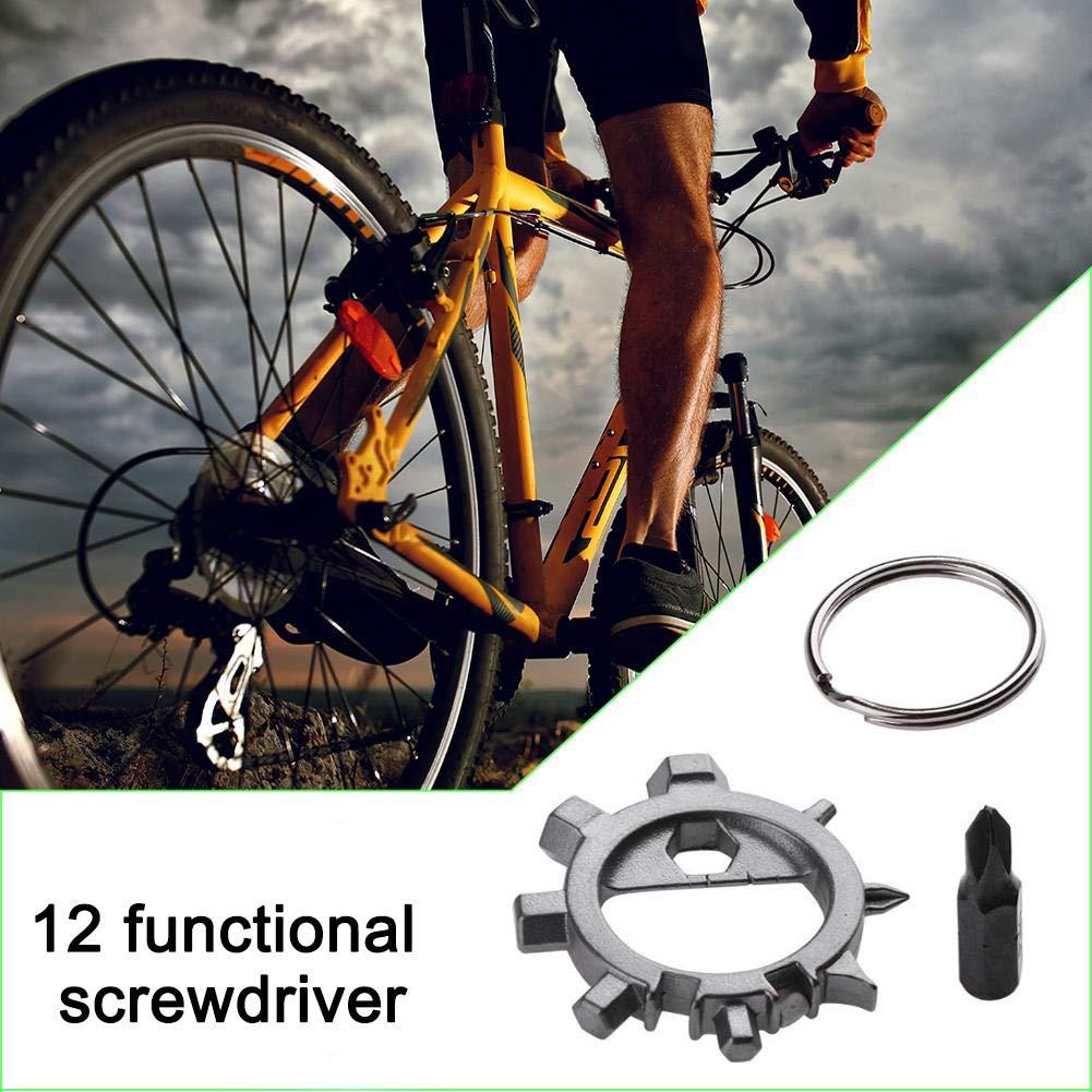 Herramienta de reparación de Bicicletas con Destornillador Pulpo ...