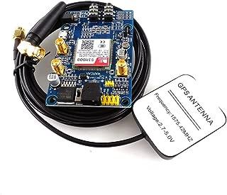 SIM808 Módulo gsm GPRS Placa de Desarrollo GPS IPX SMA con Antena GPS para Raspberry Pi STM32 51MCU Soporte Voz
