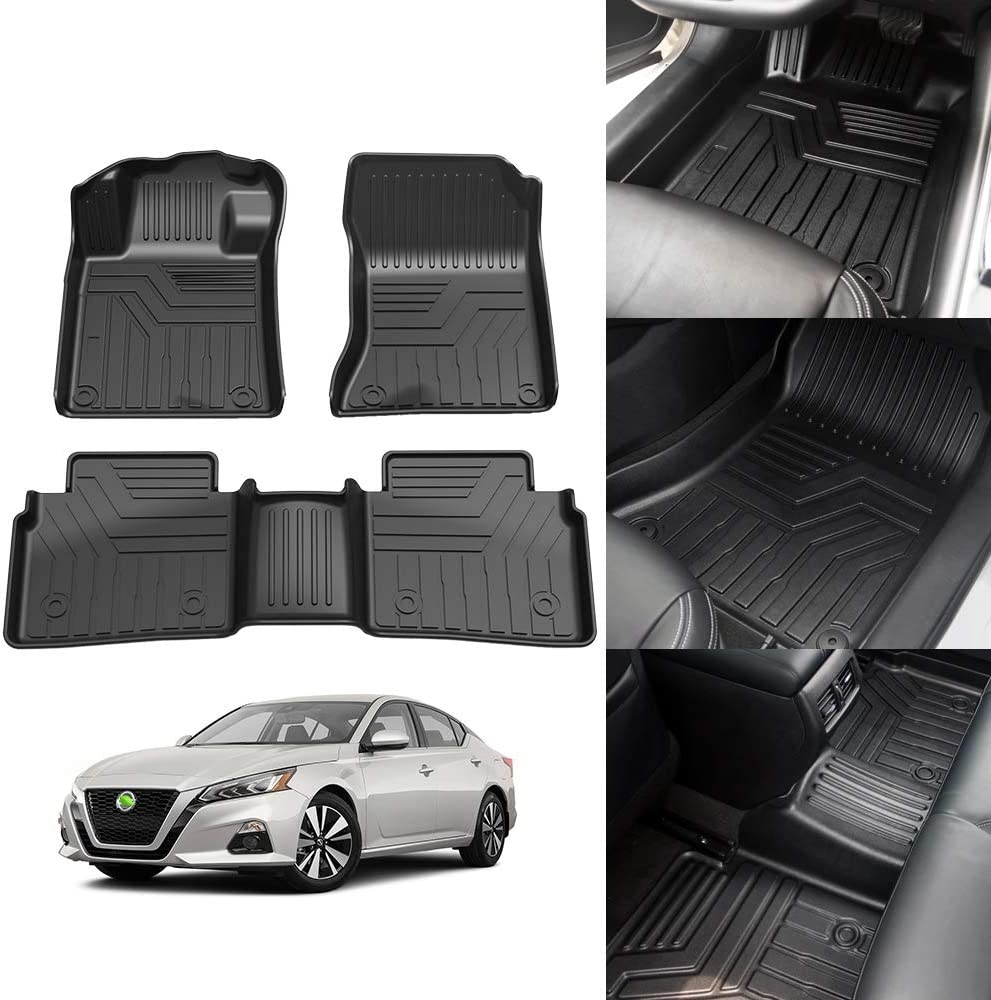 Mail order KUST Japan Maker New All Weather Floor Mats for 2019 Nissan 2020 2021 Cus Altima