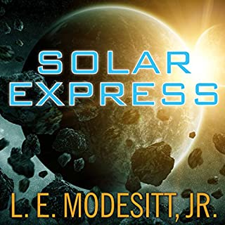 Solar Express audiobook cover art