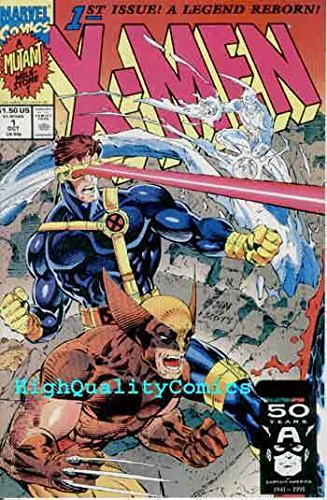 X-MEN 1, Wolverine Cyclops cv, NM+, 1991, unread, Gambit, Jim Lee, more in store