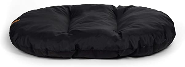 product image for R+Co R REXPILBLA00L Rexproduct Pill Premium Dog Bed Washable Non-Slip Large Black