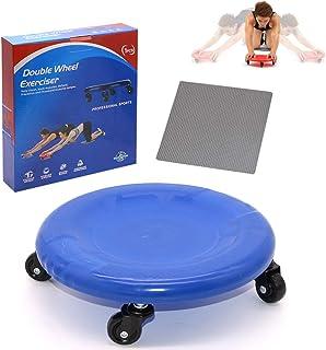 Sunsign Disc Total Core Fitness Roller Magövningar ab Universal Hjulrulle med knämatta AB och total kroppsträning system u...