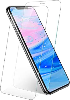 UGREEN Screen Protector 2-Pack for iPhone Xs Max 6.5-inch, Premium Tempered Glass HD Screen Saver, 9H Hardness, 2.5D Round...
