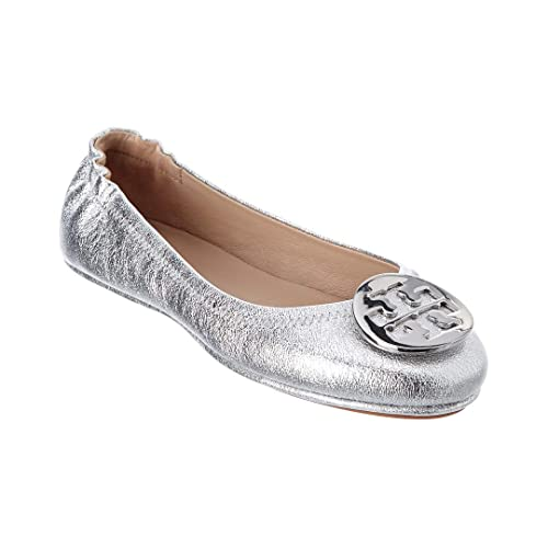 58b19f4d896 Tory Burch Minnie Travel Leather Ballet Flat