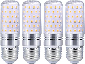 LED Light Bulb 4 Pack E26 LED Bulb Light Cornlight 80LED 16W Equivalent Replacement 120W Incandescent Bulb 1600LM SMD 2835...