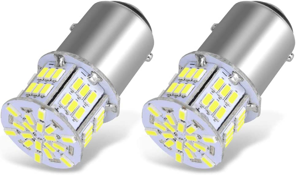 YITAMOTOR 1157 LED Bulb Very popular White 54SMD Lumens 7528 BAY15D 235 650 Our shop most popular