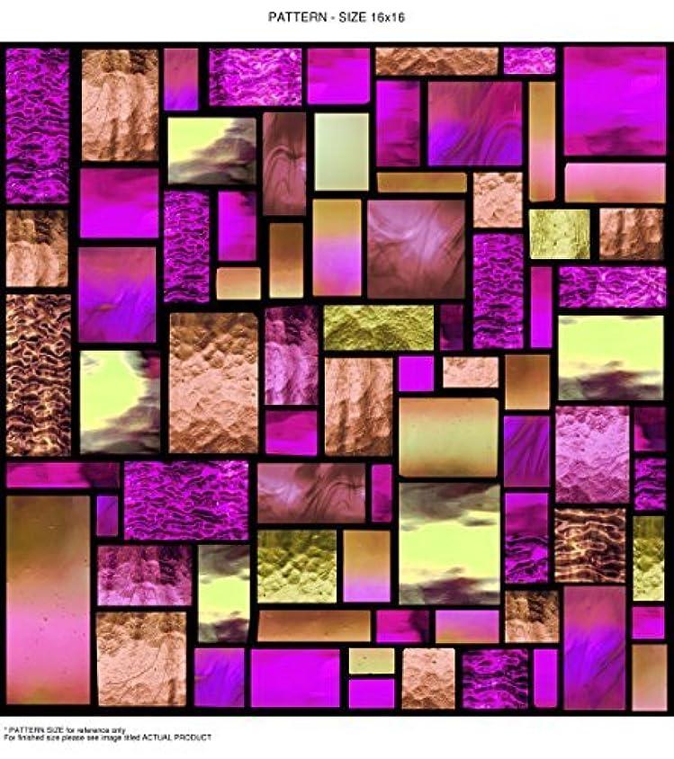 めまいが噂でるWindowPix WF106-24x96 24x96 Decorative Static Cling Window Film [並行輸入品]