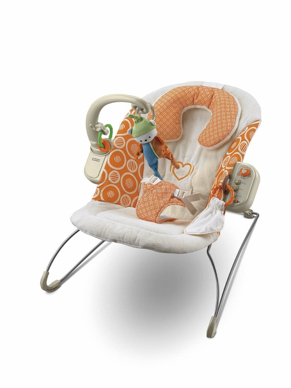 Fisher cheap Price Dreamsicle Heartbeat Inexpensive Bouncer Collection