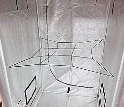 HORTIPOTS Grow Tent Trellis Elastic Netting 3 x 3 Small Plant Trellis Scrog Net for Grow Tent Poles (Pack of 1)