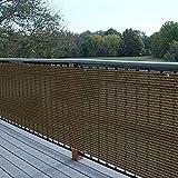 KANULAN La protección de la privacidad del toldo Lateral del balcón de la Cerca al Aire Libre 160GSM Permite Las cercas decorativasCerca de Jardín