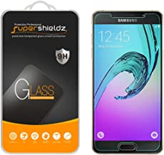 (2 Pack) Supershieldz for Samsung Galaxy A5 (2016) Tempered Glass Screen Protector, Anti Scratch, Bubble Free