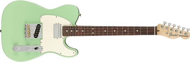 Fender American Performer Telecaster Hum Electric Guitar (Surf Green, Rosewood Fingerboard)