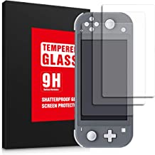 OLYNIK Screen Protector for Nintendo Switch Lite 2019, Tempered Glass Switch Screen Protectors, 100% Transparent HD, Anti-...