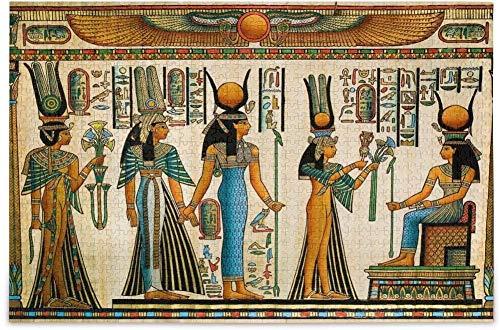 Puzzle 1000 Piezas niños Reina de Egipto Genial para Regalos 70x50CM
