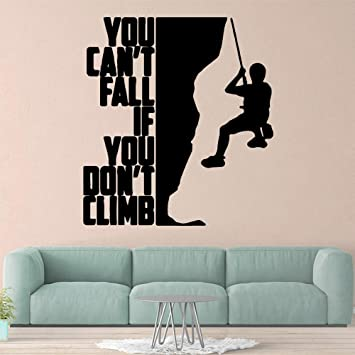 etiqueta de la pared decoración Pretty Climbing Roll ...
