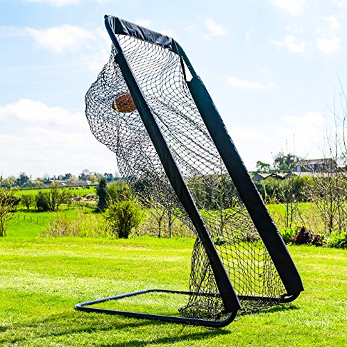 FORZA Football Kicking Cage | Pro Football Punting Football Cage | Football Equipment & Football Accessories | Backyard Football Kicking Net | Football Gear