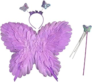 Weixinbuy Butterfly Fairy Angel Wings for Kids Baby Boys Girls Home Garden Festive Halloween Party Fairy Costumes