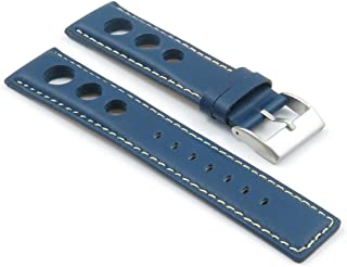 StrapsCo GT Rally Racing Leather Watch Strap
